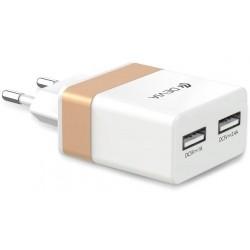 Rockwall 2 travel charger (EU plug) 2 Out 2.4 - 1.0 Amper