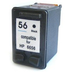23ml preto HP Desk Jet 450/5150/5550-C6656A - 56